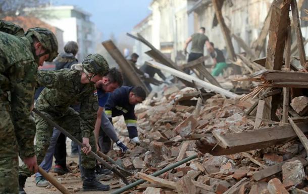 В Хорватии произошли разрушительные землетрясения с жертвами