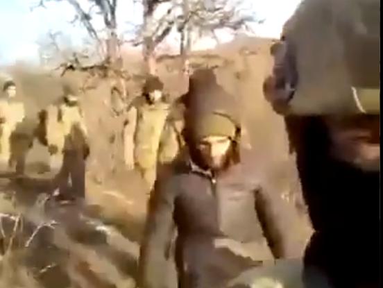 Азербайджан захватил в плен армянских военных, видео