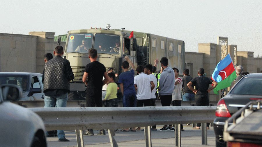 Алиев не спешит отпускать мобилизованных военных из Нагорного Карабаха