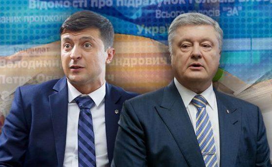 Зеленский и Порошенко возглавили рейтинг политиков и неудачников года