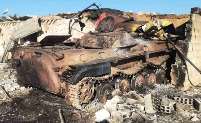 В Сирии уничтожили российскую БМП