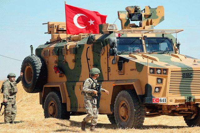 Турецкие военные понесли потери в Сирии
