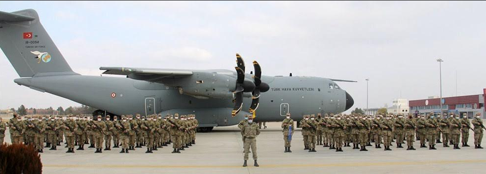 Турция перебросила в Нагорный Карабах свой военный контингент