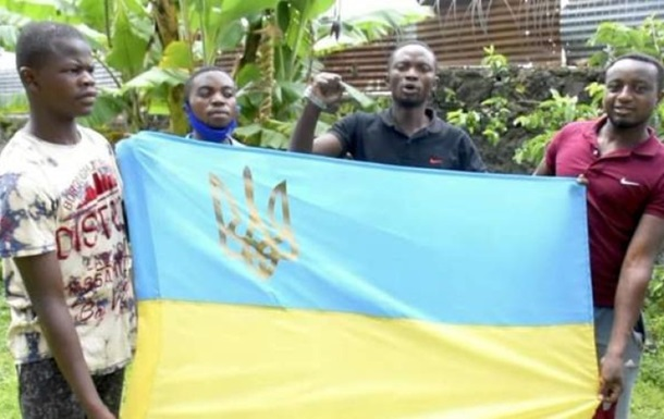 Жители Конго поздравили ВСУ с праздником, видео