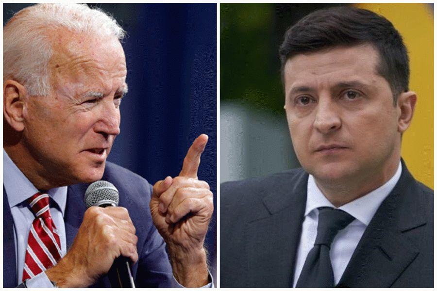 Зеленский хочет решить вопрос Донбасса с помощью Байдена