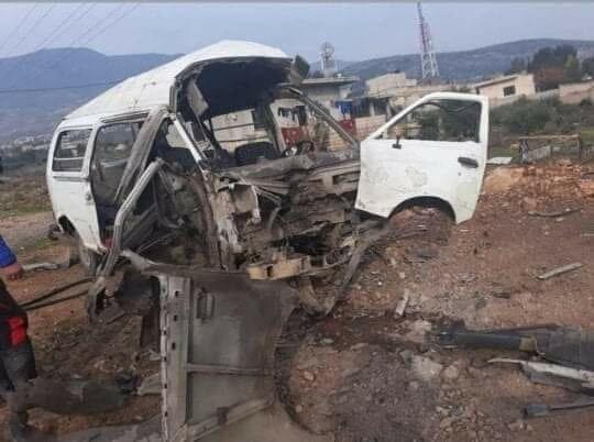 В Сирии ракетой уничтожен автобус с российскими наемниками