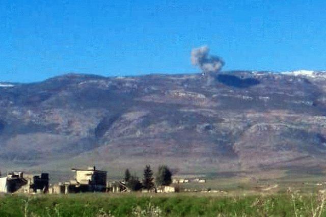 В Сирии российские военные нанесли авиаудар по турецким позициям