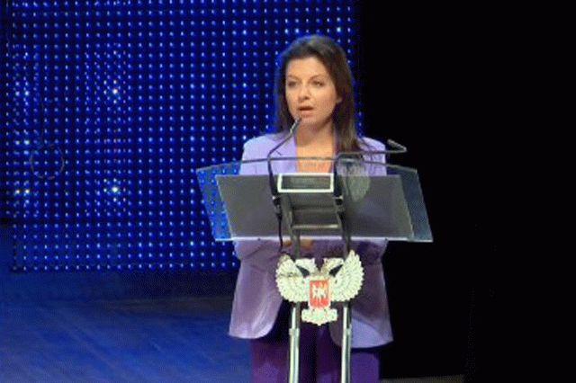 Симоньян призвала Путина забрать Донбасс в Россию