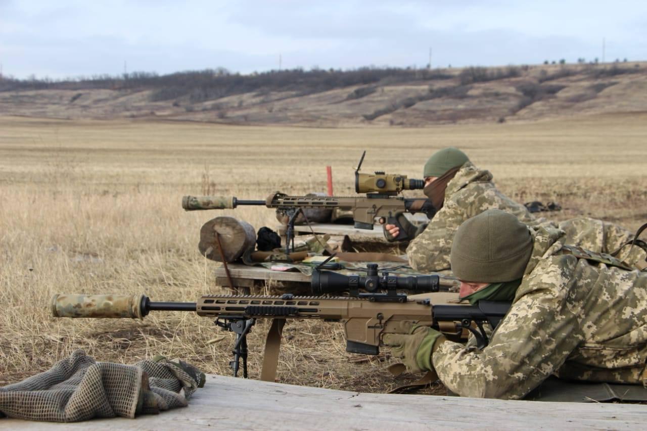 ВСУ задействовали снайперов в зоне ООС