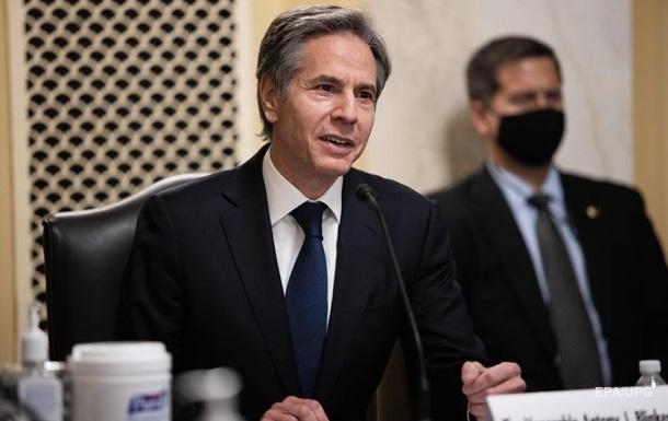 Сенат США утвердил главой Госдепартамента Тони Блинкена