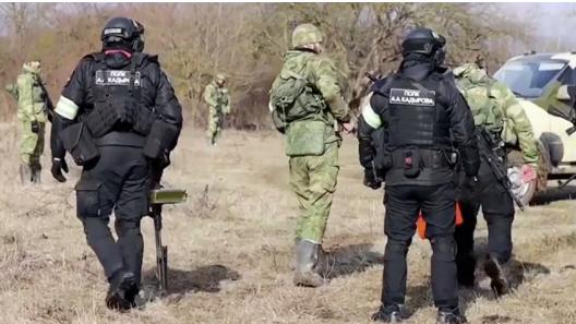 В РФ заявили, что в ликвидированной в Чечне банде были украинцы