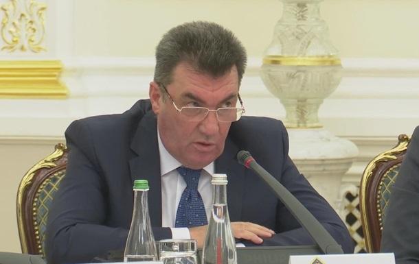 Данилов ответил на заявление Патрушева об украинском языке
