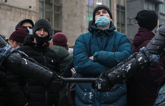 У Путина отреагировали на акции протеста