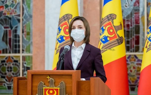 Президент Молдовы Санду назвала цели визита в Украину
