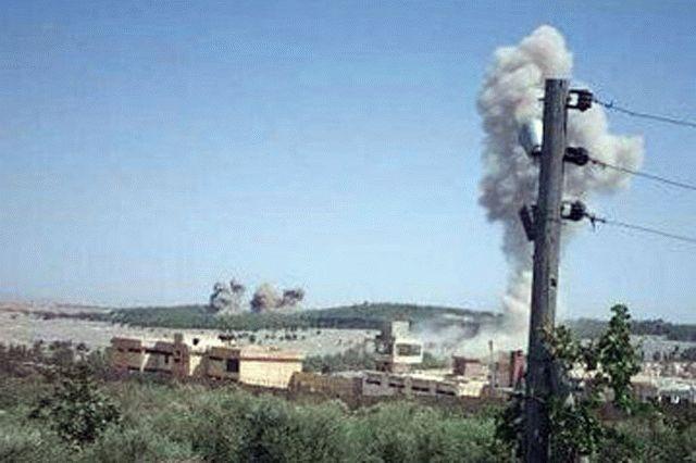 Россия нанесла авиаудары по турецким позициям в Сирии