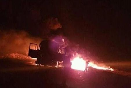 В Сирии взорвали авто в российским наемником, видео