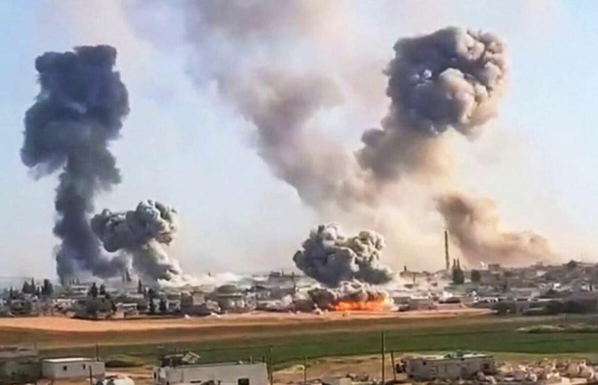 В Сирии от авиаудара пострадала российская авиабаза