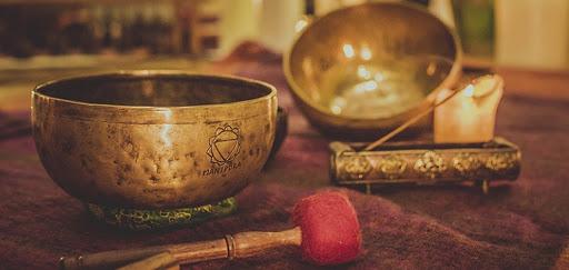 Тибетские кованые поющие чаши