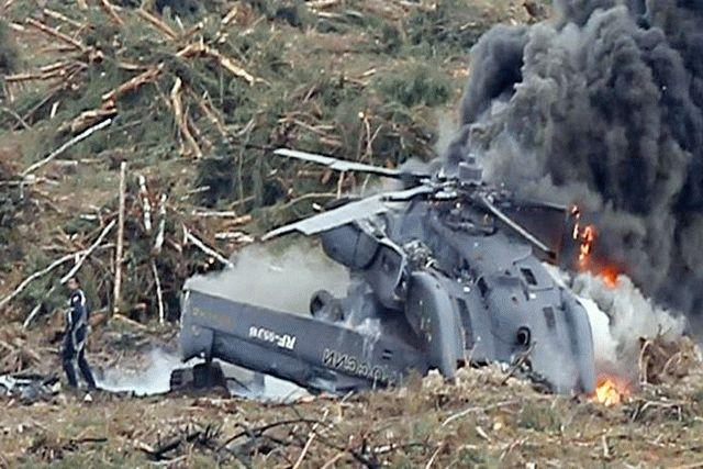 В Сирии упал военный вертолет РФ, пилот погиб