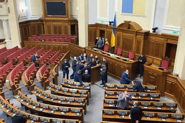 Кива заявил, что будут блокироваться Рада и Офис президента
