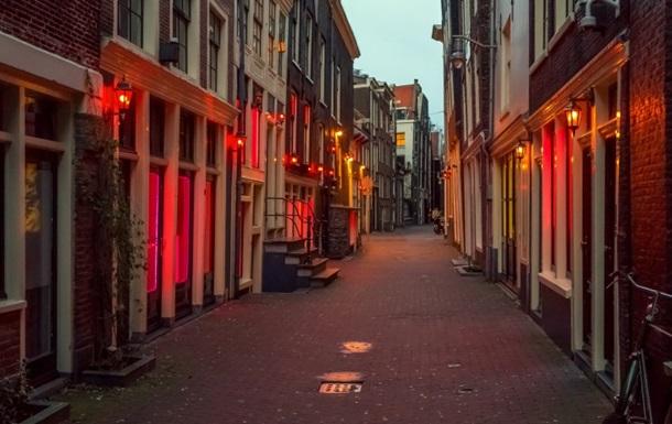 В Амстердаме приняли решение о ликвидации района «Красных фонарей»