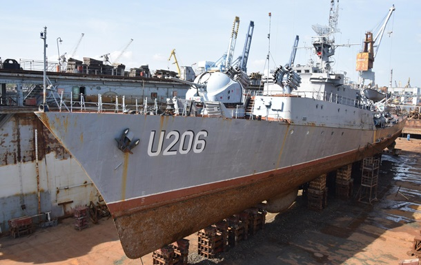 Корвет ВМС Украины «Винница» превратят в музей