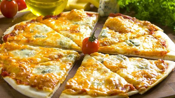 Заказать лучшую пиццу Четыре сыра
