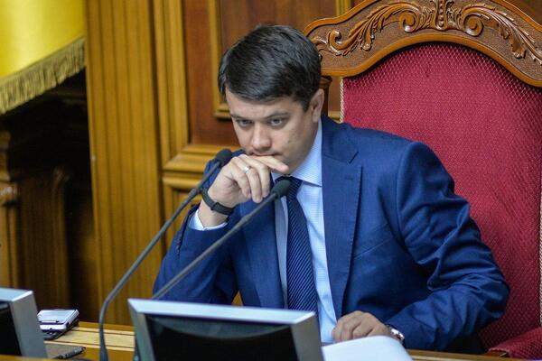 Разумков прокомментировал новость о своей возможной отставке