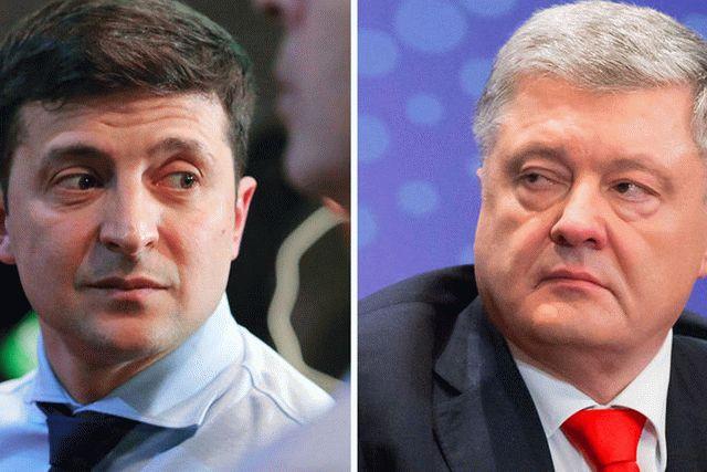 В свежем президентском рейтинге лидируют Зеленский и Порошенко