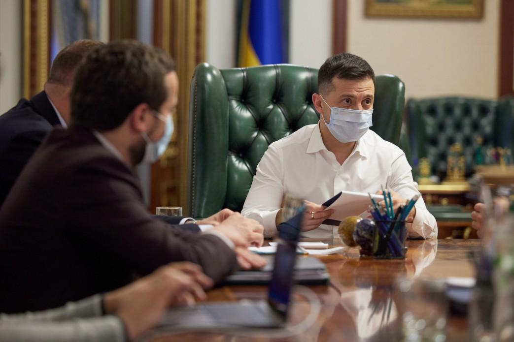 Зеленский провел встречу с руководителями украинских телеканалов