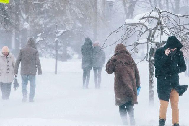 В центре Украины зарегистрировали самую низкую в Европе температуру
