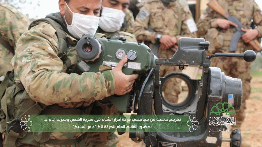 В Сирии уничтожен ПТУР с расчетом российских наемников