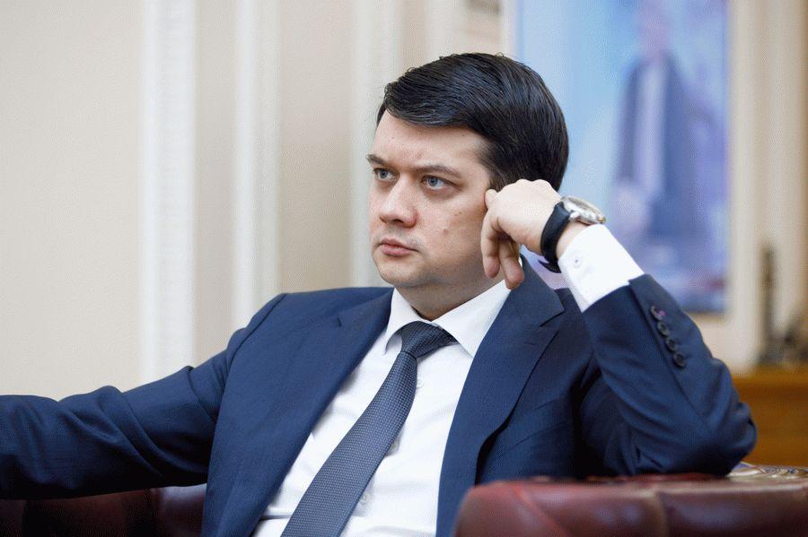 Разумкова не взяли в политсовет партии «Слуга народа»