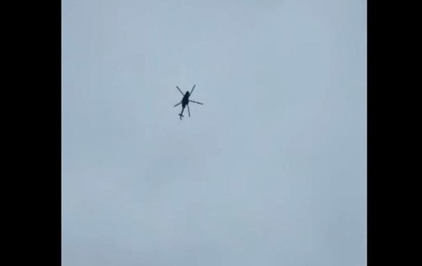 Россия отреагировала на обвинение во вторжении вертолета «Ми-8» в Украину