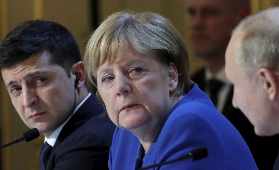 В Кремле и правительстве Германии ответили на инициативу Зеленского