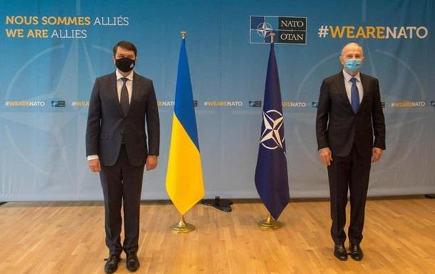 Разумков заявил, что Украина ждет план по членству в НАТО
