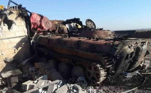 В Сирии уничтожена колонна российских наемников