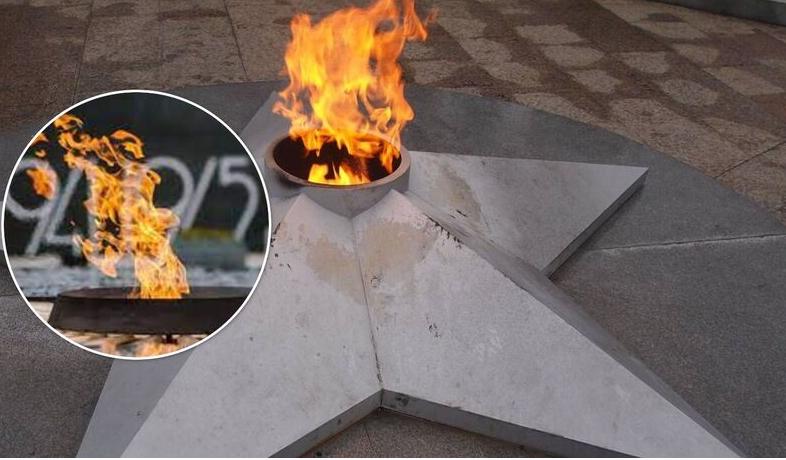 В Белой Церкви женщина с детьми жарила на Вечном огне еду
