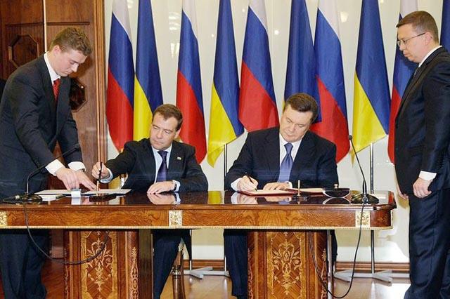 В МИД Украины выступили против денонсации Харьковских соглашений о Черноморском флоте