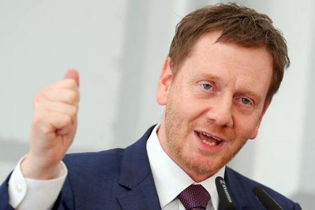 Премьер-министр Саксонии обсудил с Путиным тему Украины