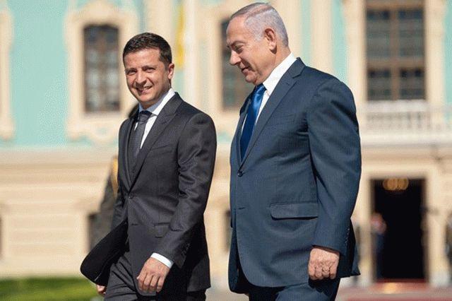 Нетаньяху согласился выступить посредником между Зеленским и Путиным