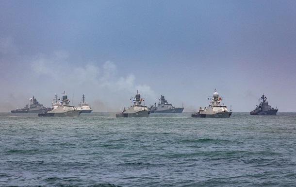 Россия закрыла для иностранных кораблей три района Черного моря