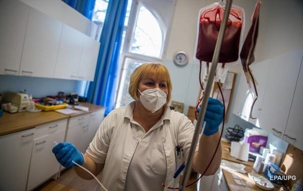 В Украине за вчерашний день от коронавируса умер 421 человек