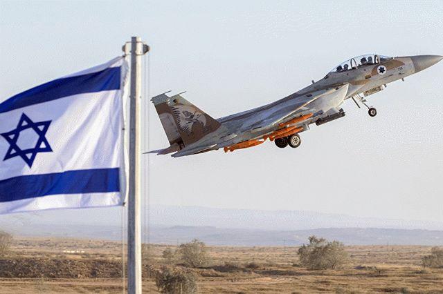 Израиль мощно ответил на ракетный обстрел