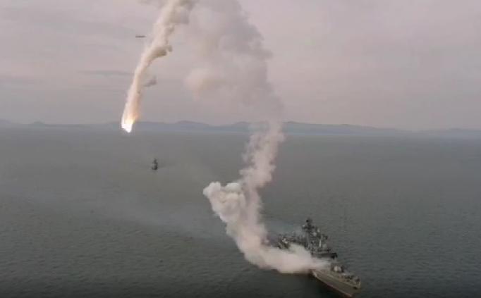 Появилось видео неудачного пуска ракеты, которой гордится Путин