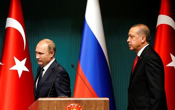 Путин рассказал Эрдогану о политике в отношении Украины