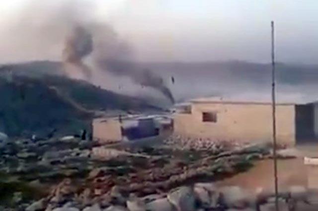В Сирии в тылу россиян уничтожили колонну с военным конвоем