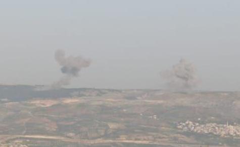 В Сирии российская авиация нанесла удар по турецким позициям