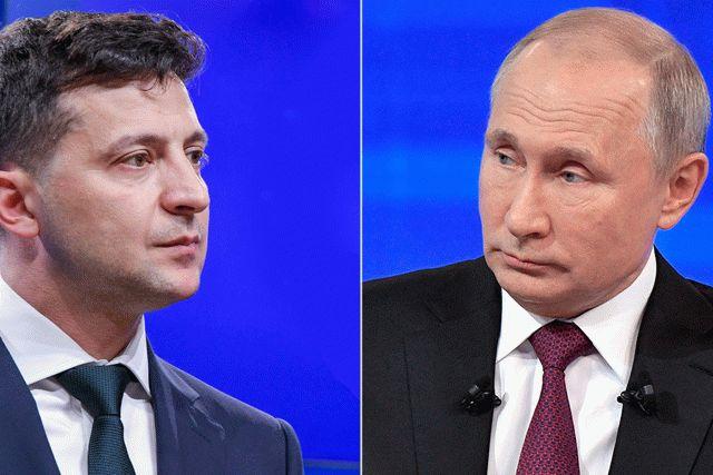 Зеленский запросил переговоры с президентом РФ Путиным