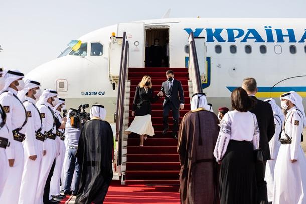 Зеленский прибыл в Катар на переговоры с шейхом